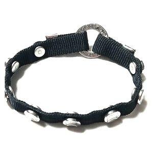 Black MOGO magnetic charm bracelet